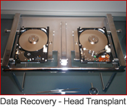 Data Recover Head Transplant